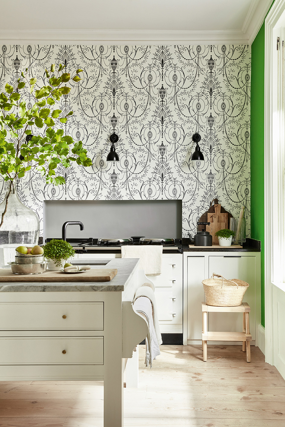 Обои Marlborough, коллекция London Wallpapers V, Little Greene